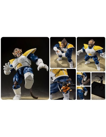 GREAT VEGETA APE FIGURA 35 CM DRAGON BALL Z SH FIGUARTS