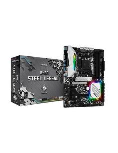 PLACA BASE ASROCK AM4 B450 STEEL LEGEND