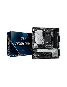 PLACA BASE ASROCK AM4 X570M PRO4