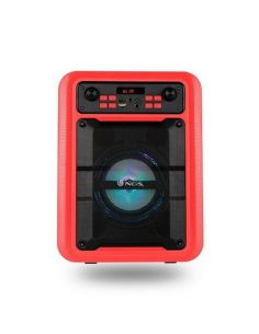 ALTAVOZ NGS SPEAKER ROLLER LINGO BLUETOOTH RED