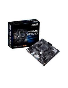 PLACA BASE ASUS AM4 PRIME B450M-K II