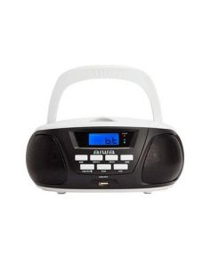 RADIO CD AIWA BOOMBOX BBTU-300BW NEGRO BLUETOOTH/CD/USB/MP3