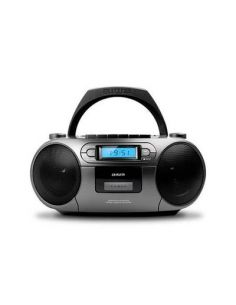 RADIO CD-CASETE AIWA BOOMBOX BBTC-550MG GRIS CASETE/CD/USB/