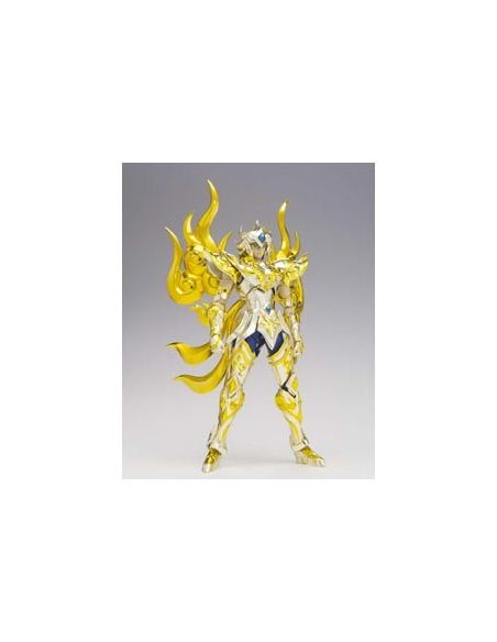 AIORIA DE LEO SOUL OF GOLD   + SOPORTES SAINT SEIYA MYTH CLOTH EX