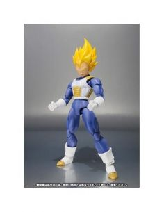 SUPER SAIYAN VEGETA PREMIUM COLOR EDITION FIGURA 14,5 CM DRAGON BALL Z SH FIGUARTS