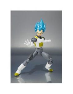 VEGETA MODO DIOS SUPER SAIYAN FIGURA 15 CM DRAGON BALL Z RESURRECTION F S.H. FIGUARTS