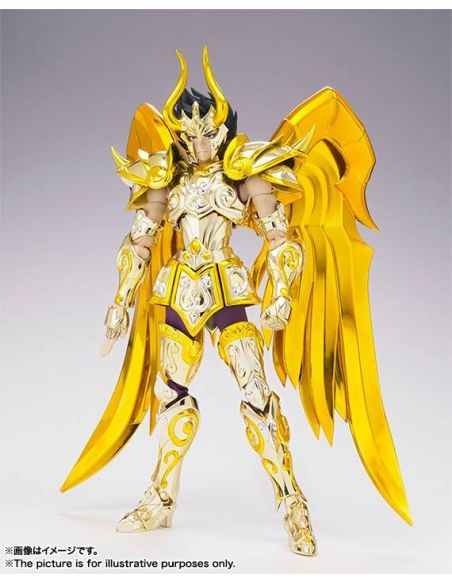 SHURA DE CAPRICORNIO SAINT SEIYA MYTH CLOTH EX SOUL OF GOLD
