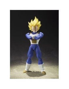 SUPER SAIYAN VEGETA FIGURA 13,5 CM DRAGON BALL Z SH FIGUARTS