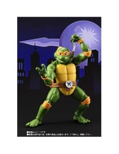 MICHELANGELO FIGURA 15 CM TEENAGE MUTANT NINJA TURTLES S.H. FIGUARTS