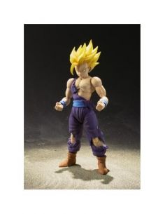 SUPER SAIYAN SON GOHAN BATTLE DAMAGE FIGURA 12 CM DRAGON BALL Z SH FIGUARTS