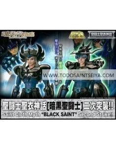 HYOGA DE CISNE SHIRYU DE DRAGON NEGROS V1 SAINT MYTH CLOTH
