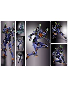 EVA-01 TEST TYPE FIGURA 22 CM NEON GENESIS EVANGELION METAL BUILD