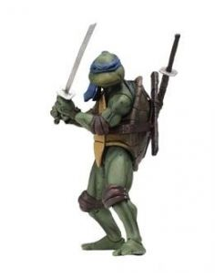 LEONARDO FIGURA 18 CM SCALE ACTION FIGURE TMNT MOVIE 1990